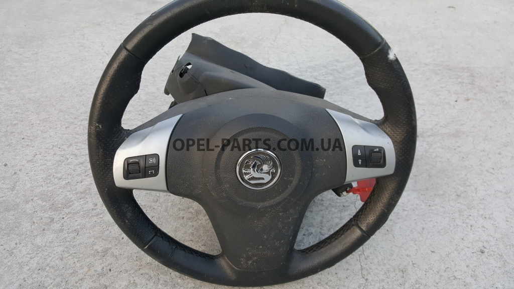 Подушка безопасности водителя Airbag Opel Corsa D б/у на Опель Corsa D