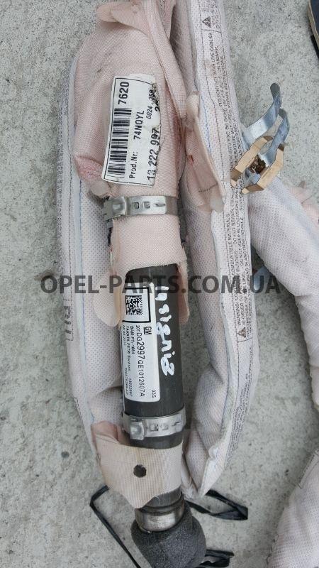 Airbag потолочный Opel Insignia 13222997 б/у на Опель Insignia