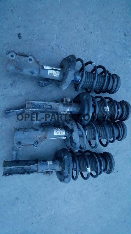 Амортизатор передний Opel Astra J RH 13354030 б/у на Опель Astra J