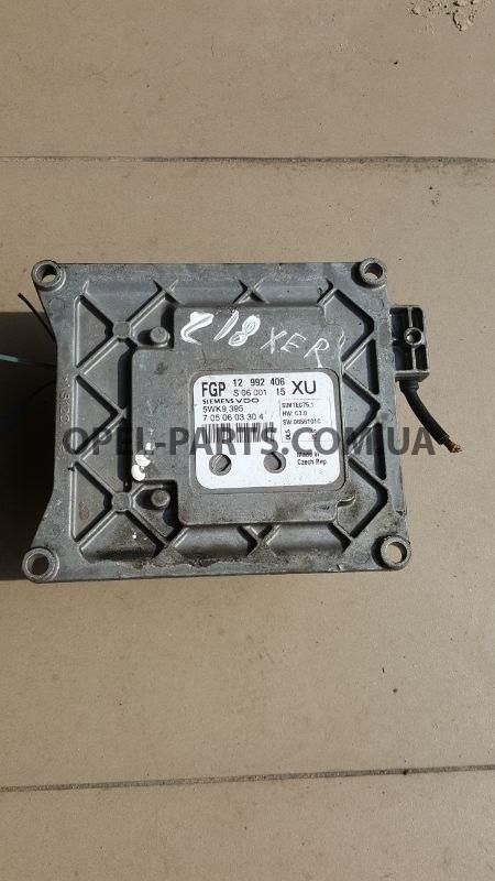 Блок управления двигателем Z18XER 12992406 XU Opel Zafira B б/у на Опель Zafira B