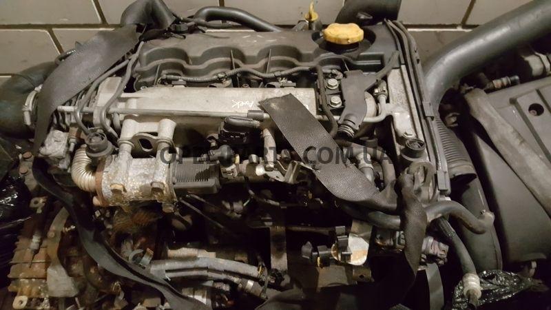 Двгатель Z19DT Opel Zafira B Opel Astra H б/у на Опель Zafira B