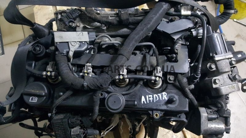 Двигатель A17DTR Opel Astra J Zafira B Astra H Meriva б/у на Опель Astra J