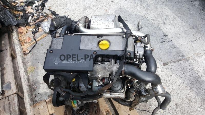 Двигатель Y20DTH 90400240 Opel Zafira A Astra G Vectra C б/у на Опель Zafira A