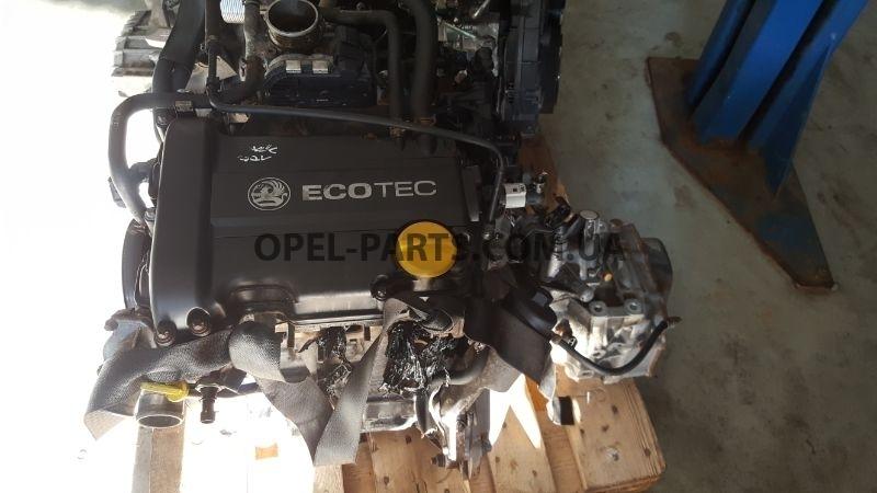 Двигатель Z14XEP 24450960 Astra G H Corsa C D Meriva б/у на Опель Astra H