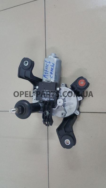 Двигатель заднего дворника 13395013 б/у на Опель Astra J