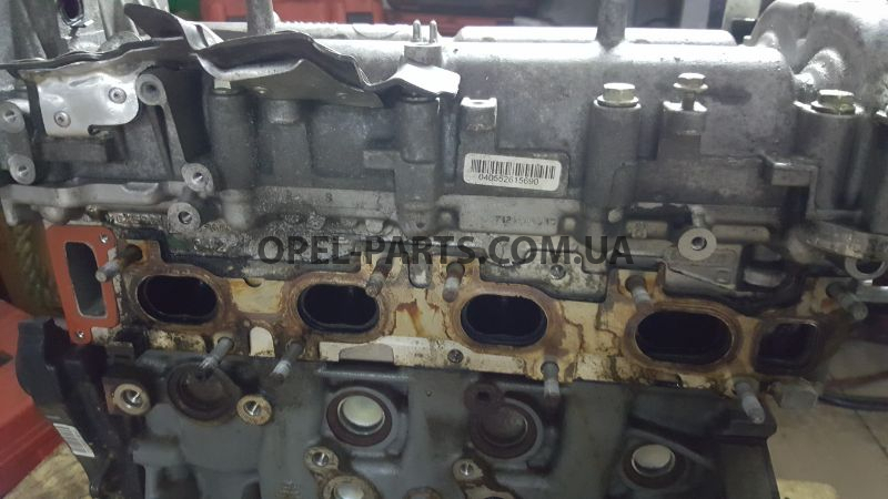 Головка блока цилиндров 16Multijet Fiat Doblo Opel Combo б/у на Опель Combo C