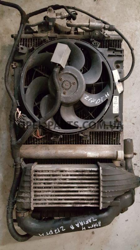 Комплект радиаторов б/у на Опель Zafira B