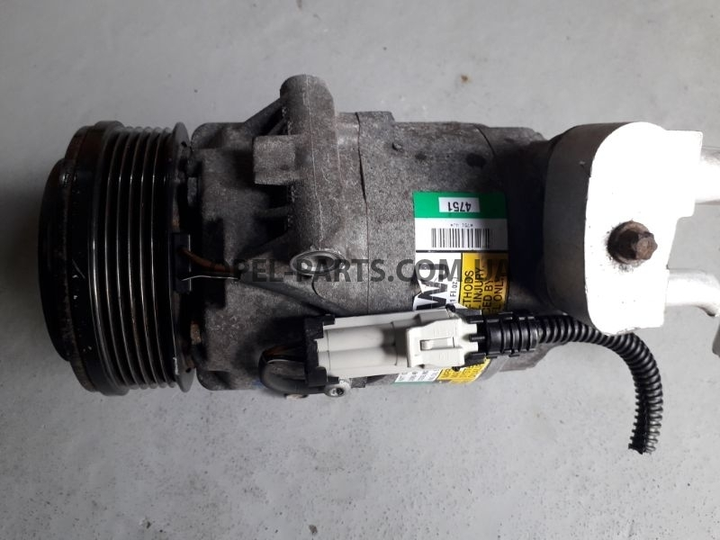 Компрессор кондиционера 13124751 WJ б/у на Опель Astra H