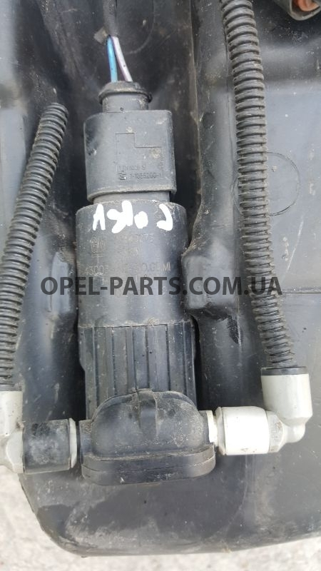 Моторчик стеклоомывателя Opel Astra J 13349273 б/у на Опель Astra J