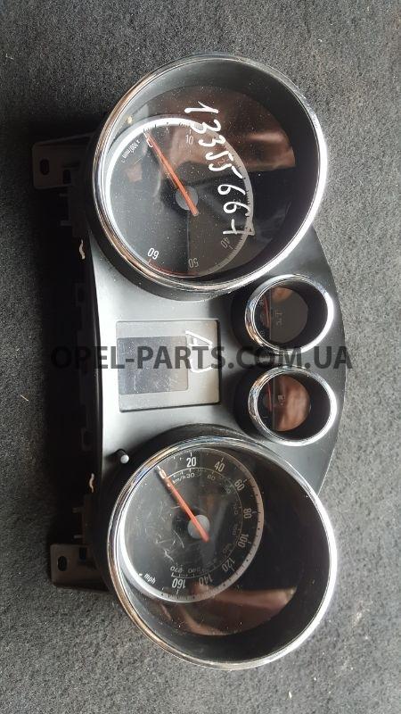 Приборный щиток Opel Astra J 13355667 б/у на Опель Astra J