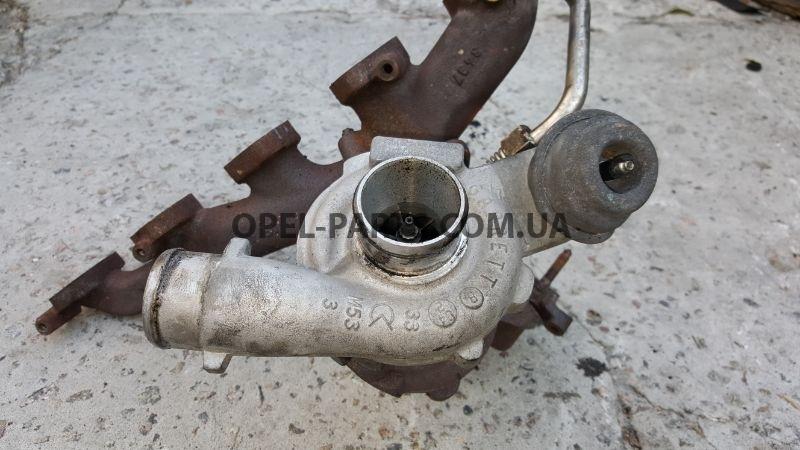 Турбина 24461825 Opel Zafir A Y20DTH б/у на Опель Zafira A