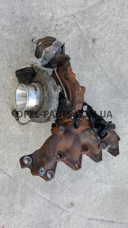 Турбина A17DTR 98053674 Opel Astra H J Meriva б/у на Опель Astra J