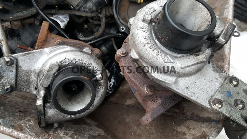 Турбина A20DTH Opel Insignia 55570748 б/у на Опель Insignia