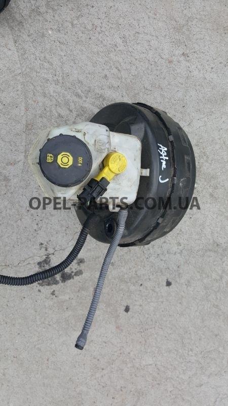 Вакуумный усилитель тормозов в зборе Opel Astra J 13338057 б/у на Опель Astra J