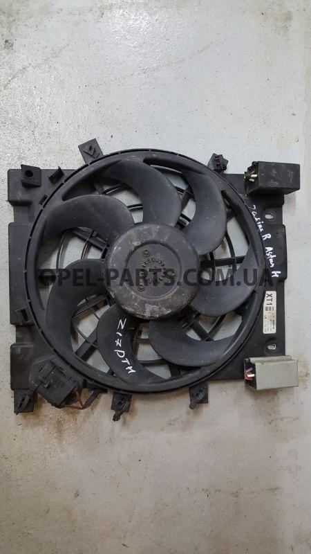 Вентилятор кондиционера 13132559 б/у на Опель Astra H