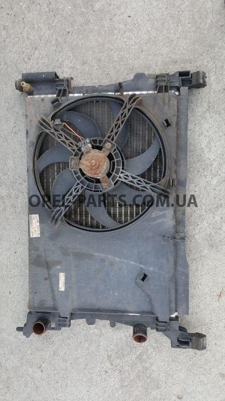 Вентилятор охлаждения Opel Corsa D 55700996 б/у на Опель Corsa D