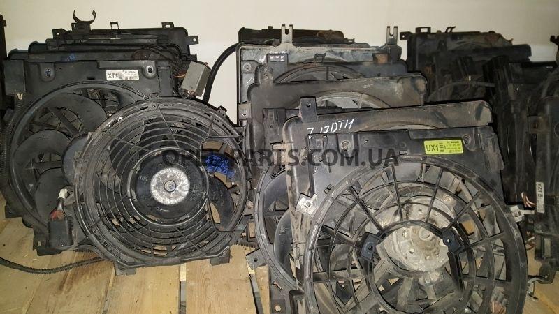 Вентилятор охлаждения б/у на Опель Combo C
