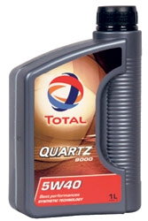 Моторное масло Total Quartz Energy 9000 5W40 1L