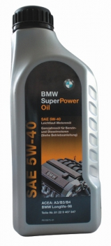 Моторное масло BMW Super Power 5W40 1L