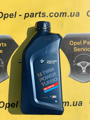 Моторное масло BMW Twinpower Turbo Oil Shell 10W60 1L