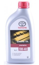 Моторное масло Toyota Engine Oil 5W40 1L